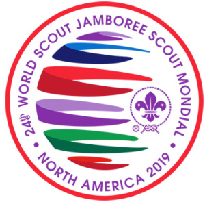 2019 World Scout Jamboree logo circular