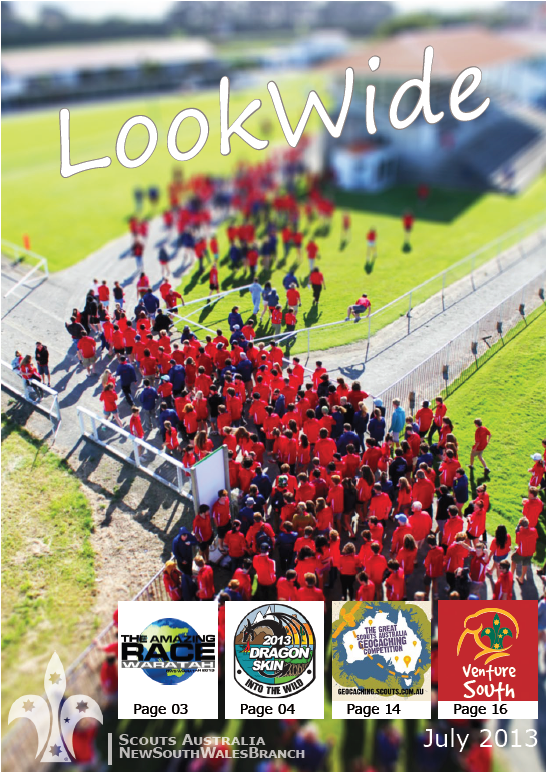 Look Wide July 2013 Cover
